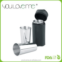 stainless steel wine shot cup 95ML