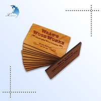 Wooden Postcard Invitation Card