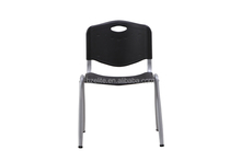 2016 new design strong waiting chair plastic back