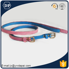 Popular high quality wholesale leather belt blanks child pu belt