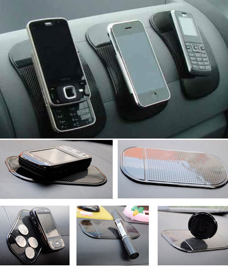 PU Sticky Pad For Car with packing mobile