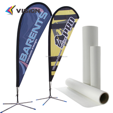 100gsm White Paper Material and High Temperature heat transfer paper rolls textile printing
