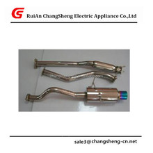 "NEW High Quality 4"" MUFFLER TIP CATBACK/CAT BACK RACING EXHAUST FOR 92-00 CIVIC 2/4DR EG/EK/EJ"