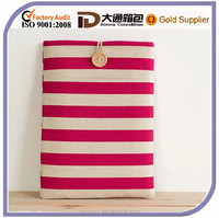 Horizontal Stripe Custom 15.6 Inch Laptop Sleeve Tablet Case