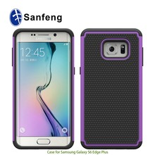 Rugged TPU PC Combo Hybrid Phone Case Cover for Samsung Galaxy S6 Edge+ Plus