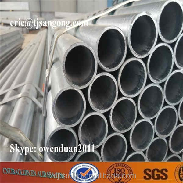 A576 Galvanized steel pipe price per ton