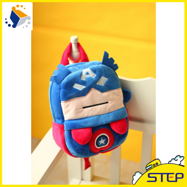 2016 Factory Super Soft Plush Baby Backpack