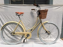 Steel Lugged Frame 28 Inch City Bicycle/Utility Bike/Vintage Bike