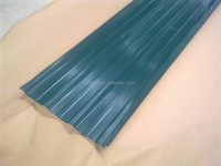 PPGI Pre Painted Galvanized Steel Sheet , Color Coated Corrugated Metal Roofing Sheets