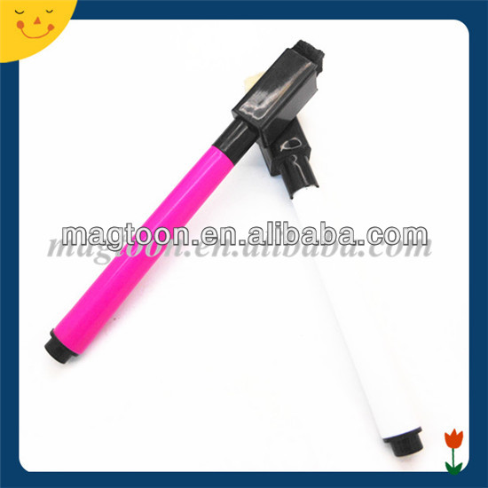 Custom colorful erasable magnetic refrigerator pen