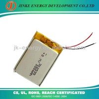 Rechargeable 302535 220mAh 3.7v battey with top quality from factory