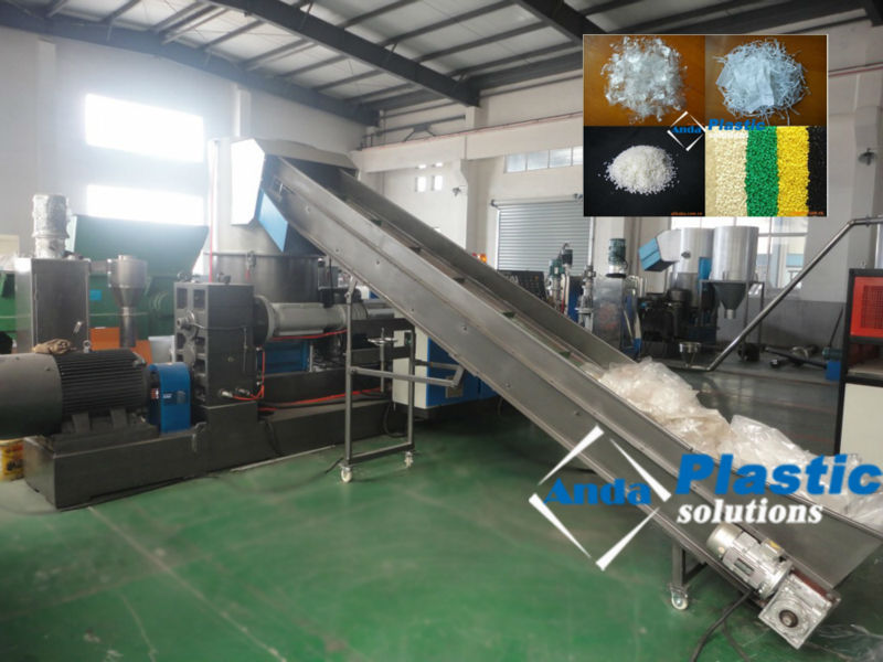 agglomerator PE film pelletizing machine