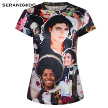 Custom Summer Funny Michael Jackson 3D T-shirts