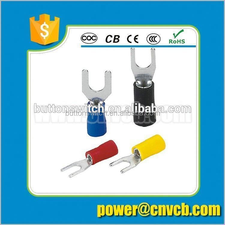 ring wire terminals/copper terminal open mouth type connecting terminals/terminals
