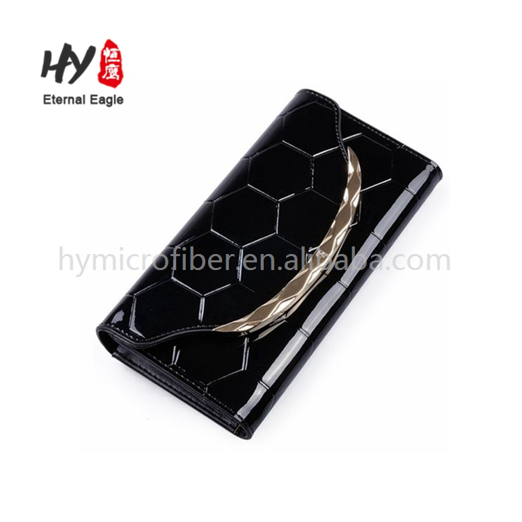 Fashion style fashionable ladies pu leather long wallet