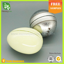 Egg tins egg shape tin can ball shape metal package