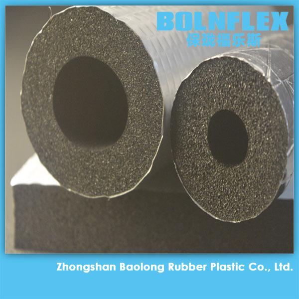 Rubber foam heat insulation material copper pipe for Insulation for copper heating pipes
