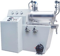 wet dispersing nano sand mill for Battery industry