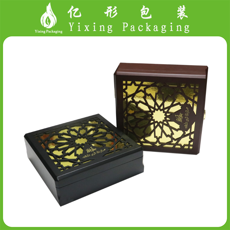 China supplier sales custom lacquered wood box