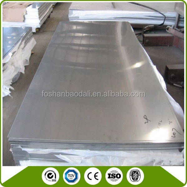 stainless steel sheet 309S 310S 321 with SGS BV certificate