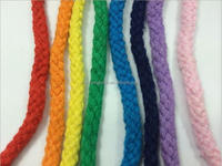colored decorative cotton rope