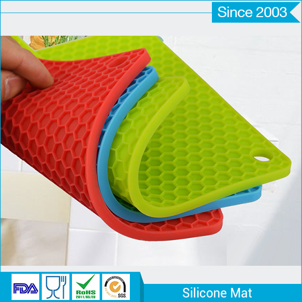 Wholesale silicone baking mat Non Stick Heat Resistant Silicone cup Mat
