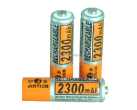 NiMH battery 1.2v AA 2300mah rechargeable