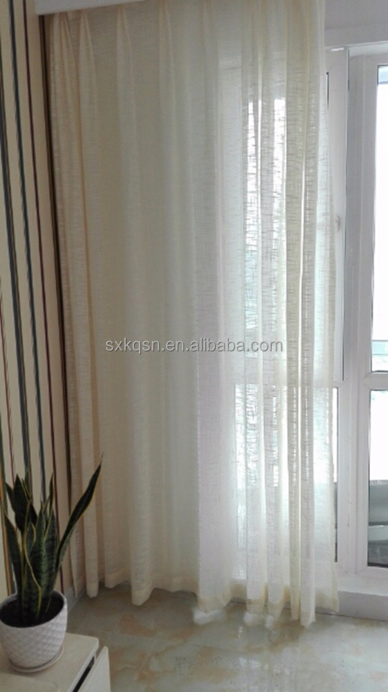 2017 new one layer solid curtain for windows