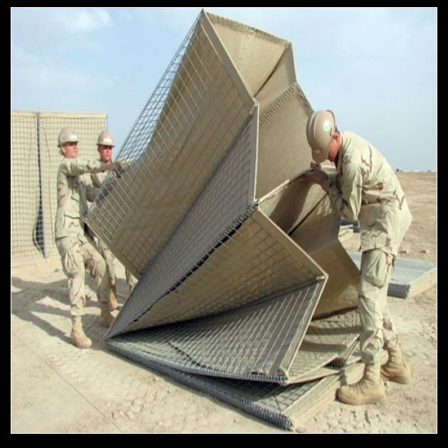 (THE REAL FACTORY) Galvanized Hesco for militaty (Mil1 - Mil10)