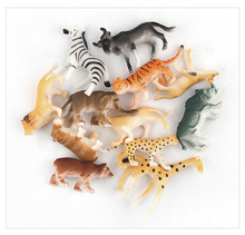 Mini Animal Figure Toys Animal Model Wildlife Ornaments <strong>12</strong> in 1 Set