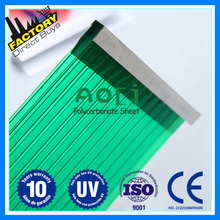 Triple-wall plastic roof polycarbonate hollow sheet polycarbonate prices