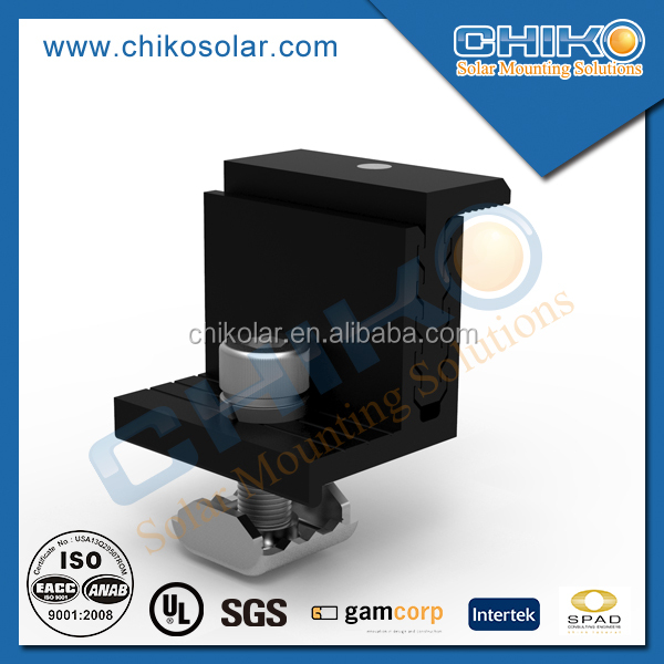 Solar pv roof mount fixings/solar panel tile roof mounting components