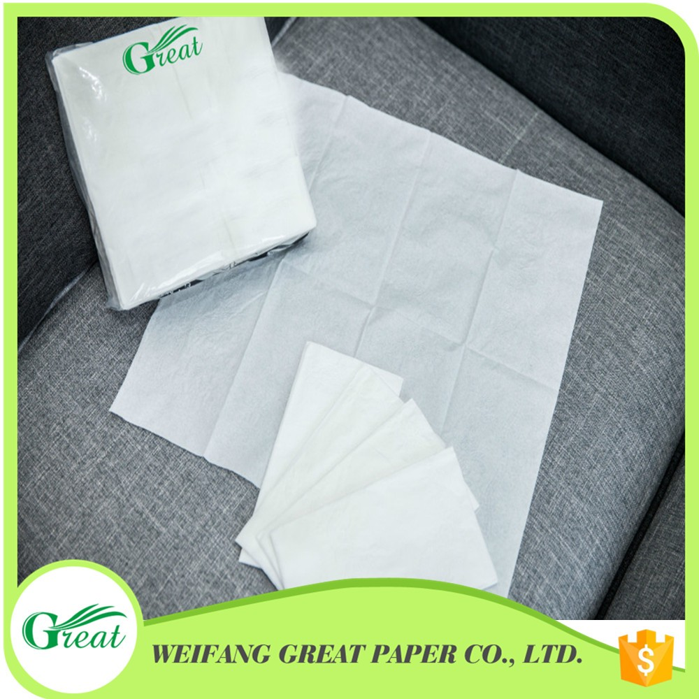 High absorbent 13gsm flexible raw material magic paper napkin