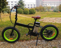 EN15194 Approved Fat Tyre Mini Folding Electric Bike