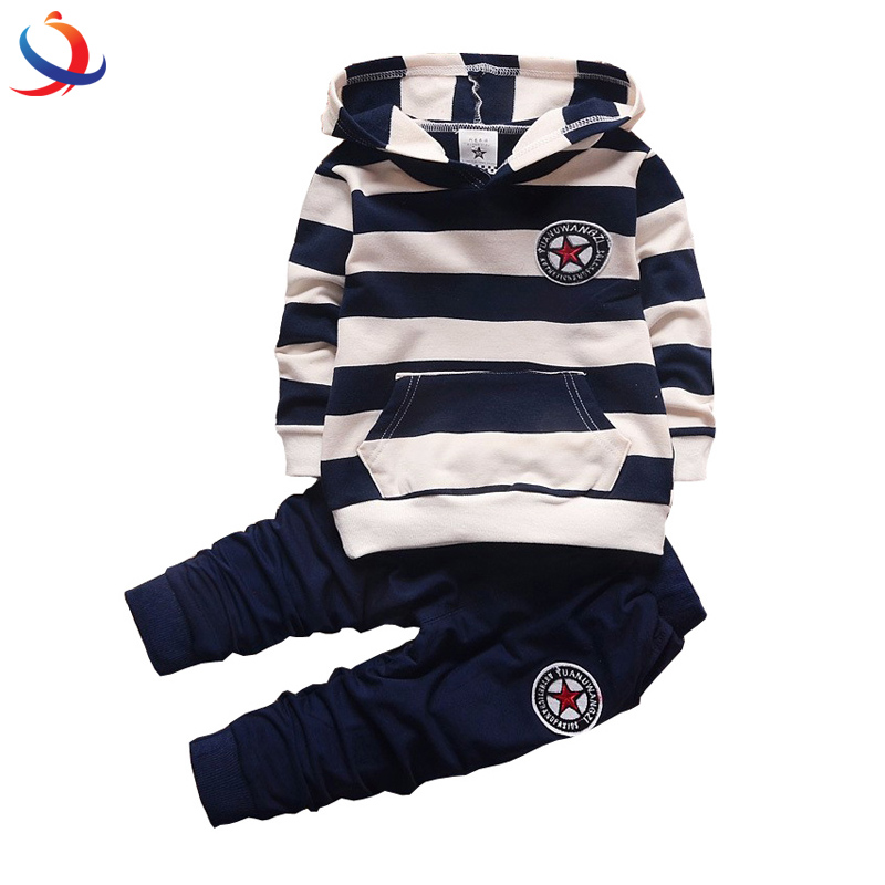 New 2Pcs Baby Clothing Sets Hoodie With Pant Soft Boy And Girl Outfits