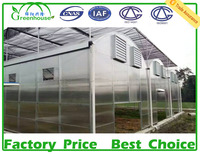 high quality polycarbonate tunnel greenhouse for sale