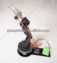 Hight quality New 6 DOF Manipulator Robot Arm Kits Aluminum Rotating Base