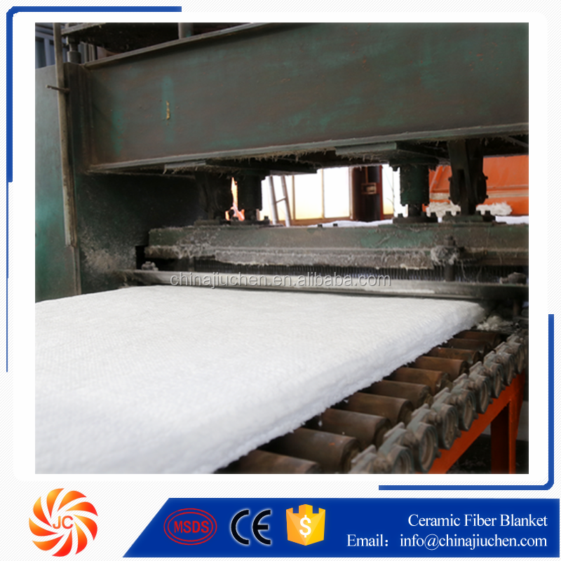2600F 6LB Density Aluminium Silicate Fiber Blanket Insulation