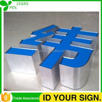 Click! Aluminum Letters with Acrylic Front-lit