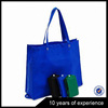 Cheap wholesale polyester folded blue nylon Shopping bag from China
