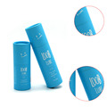 Professional design small cardboard tube sky blue push up paper tubes