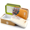 Cosmetic handmade soap packaging cans rectangle metal tin box