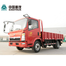 Cargo transportation 4x2 6 wheeler HOWO light truck for sale