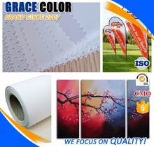 Haining High Color Brilliant Eco Solvent Digital Printing Material /Cheap Flags and Textile Polyester