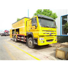SINOTRUCK HOWO 3 Axis Slurry Seal Truck For Sale
