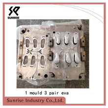 1mould 3 pairs eva the mould aluminum mould blow molding mould