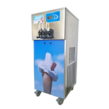 Big Capacity 3 <strong>Nozzles</strong> Commercial Soft Ice Cream Machine With Precooling System