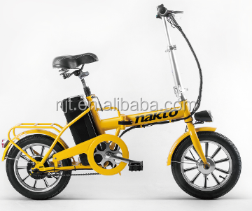 14 inch children foldable electric bike for selling