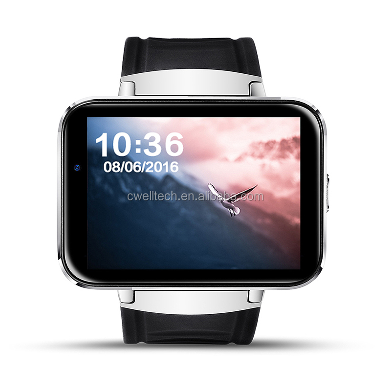 2.2 inch Big Touch Screen Alloy Body wifi GPS 3G android smart watch Phone