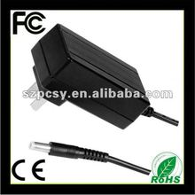 Switching 12v 3.5a wall power supply adapter